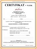 Certyfikaty i deklaracje materiałów